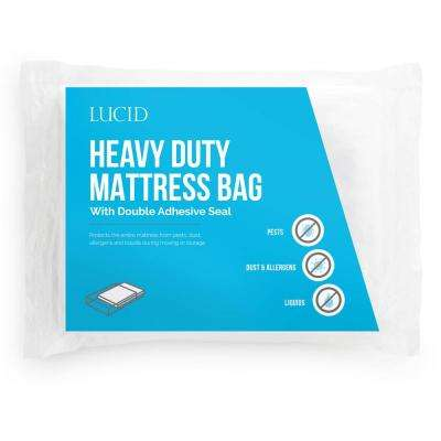 Twin XL Heavy Duty 3 Mil Mattress Bag