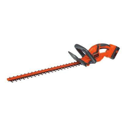 40-Volt Lithium-Ion Electric Cordless Hedge Trimmer