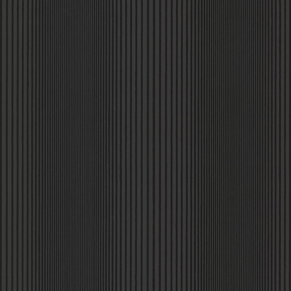 Brewster Alpha Black Ombre Stripe Wallpaper-HZN43042