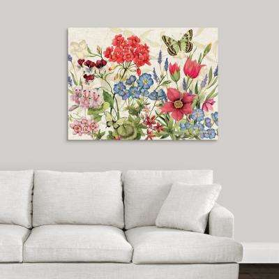 """Botanical Florals"" by Susan Winget Canvas Wall Art"