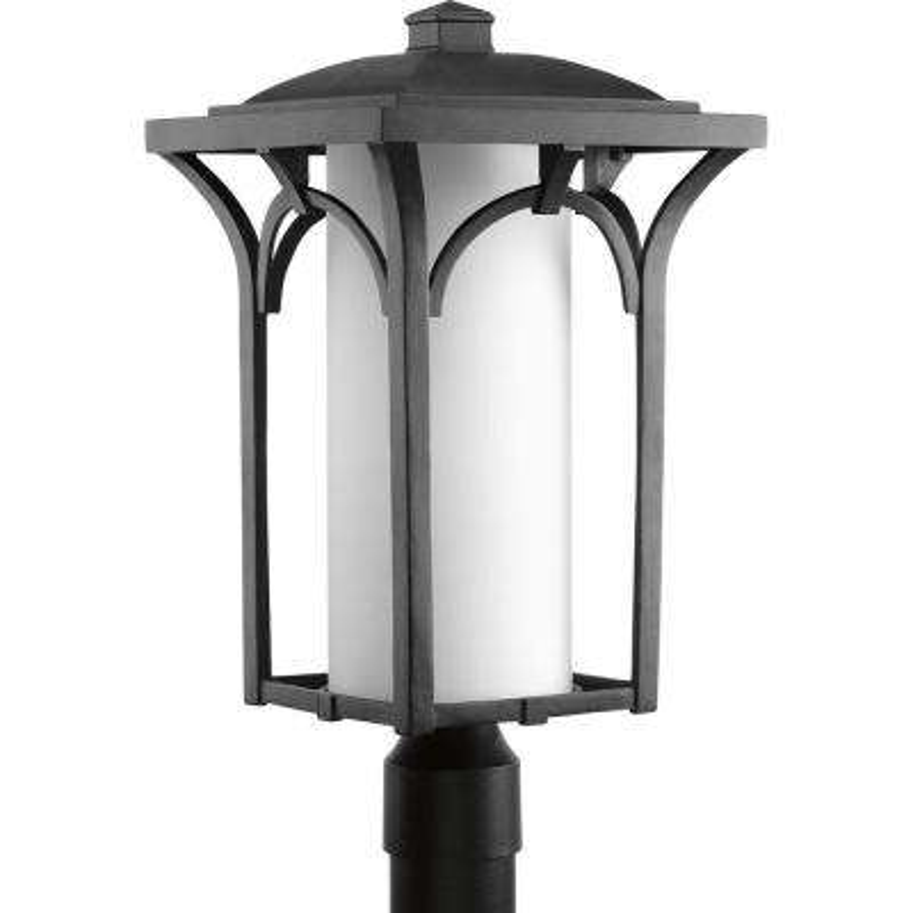 Outdoor Lighting Accessories Gu24 outdoor lighting accessories outdoor lighting the home depot promenade collection 1 light black outdoor post lantern workwithnaturefo
