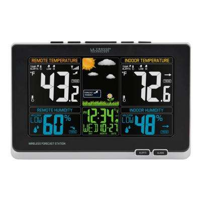 Digital Wireless Color Weather Station with Mold Indicator