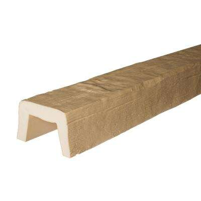 5-7/8 in. x 3-7/8 in. x 13 ft. Unfinished Modern Faux Wood Beam