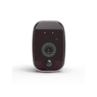 LizaTech 1080p Wi-Fi Battery IP Camera 100% Wire-Free Low Power Consumption Battery IP Camera, Black