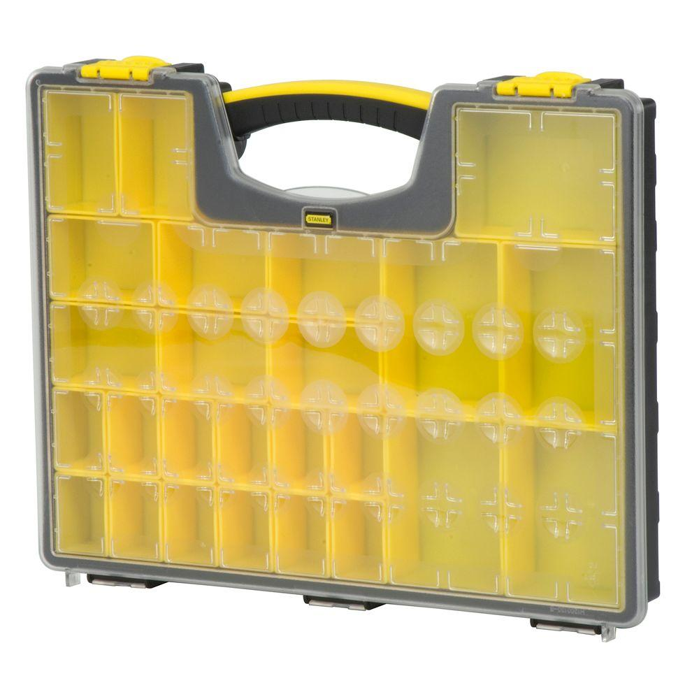 Stanley 25 Compartment Shallow Pro Small Parts Organizer 014725R