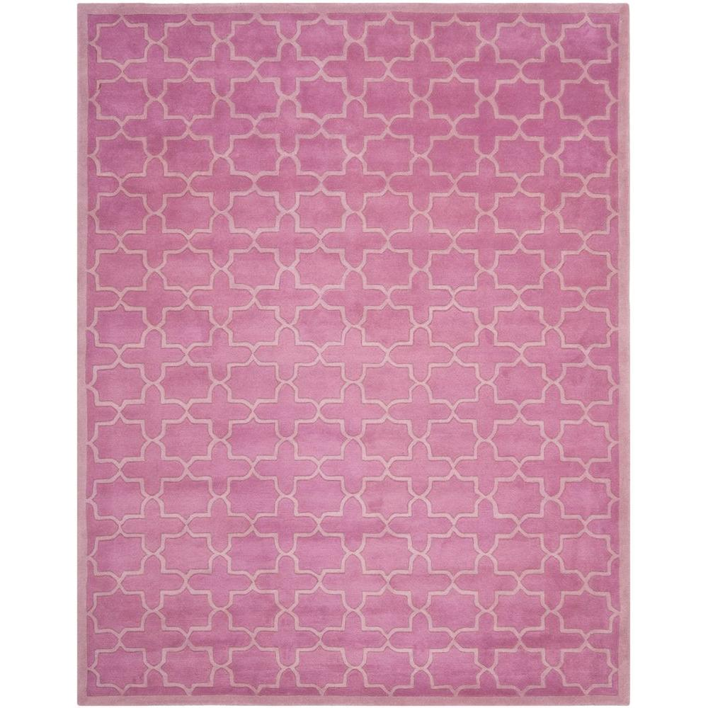 Safavieh Chatham Pink 8 Ft. X 10 Ft. Area Rug-CHT937D-8