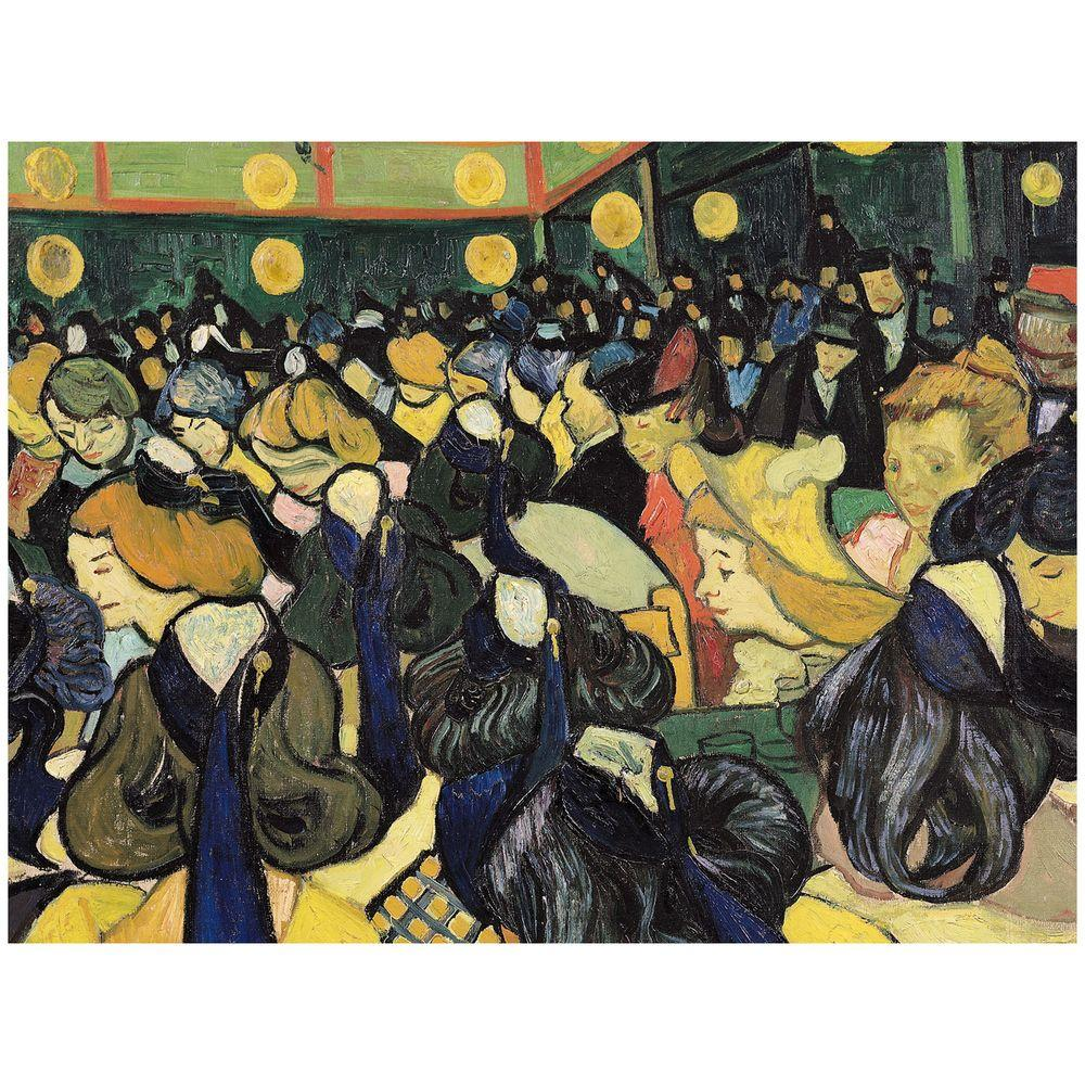 35 in. x 47 in. The Dance Hall at Arles, 1888