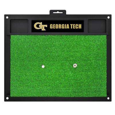 NCAA Georgia Tech 17 in. x 20 in. Golf Hitting Mat