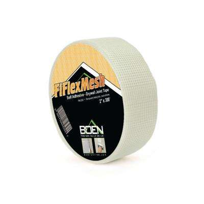 FiFlex 2 in. x 150 ft. Self-Adhesive Fiberglass Mesh Drywall Joint Tape