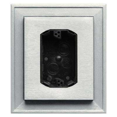 7 in. x 8 in. #123 White Electrical Mounting Block