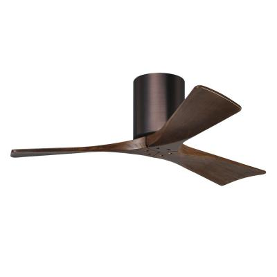 Irene-3H 42 in. Indoor/Outdoor Brushed Bronze Ceiling Fan