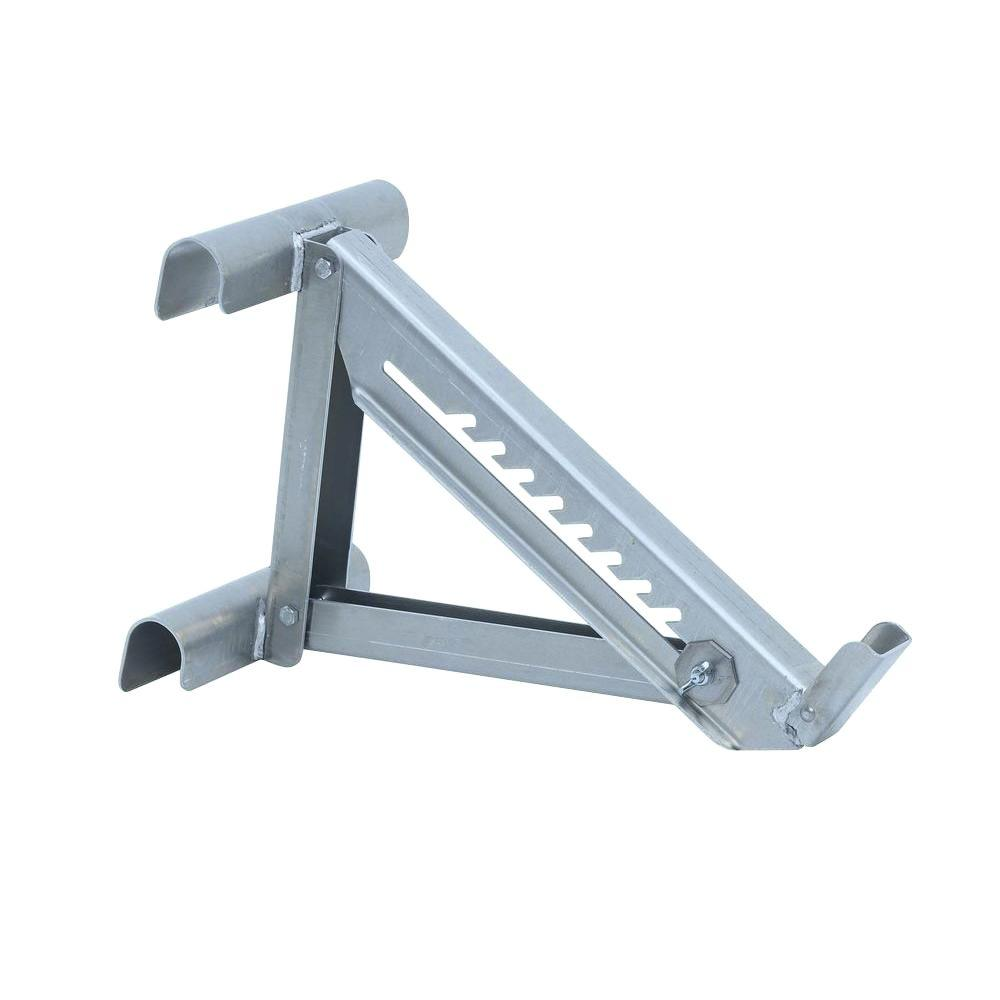 Qualcraft 2 Rung Aluminum Ladder Jack 2420p The Home Depot
