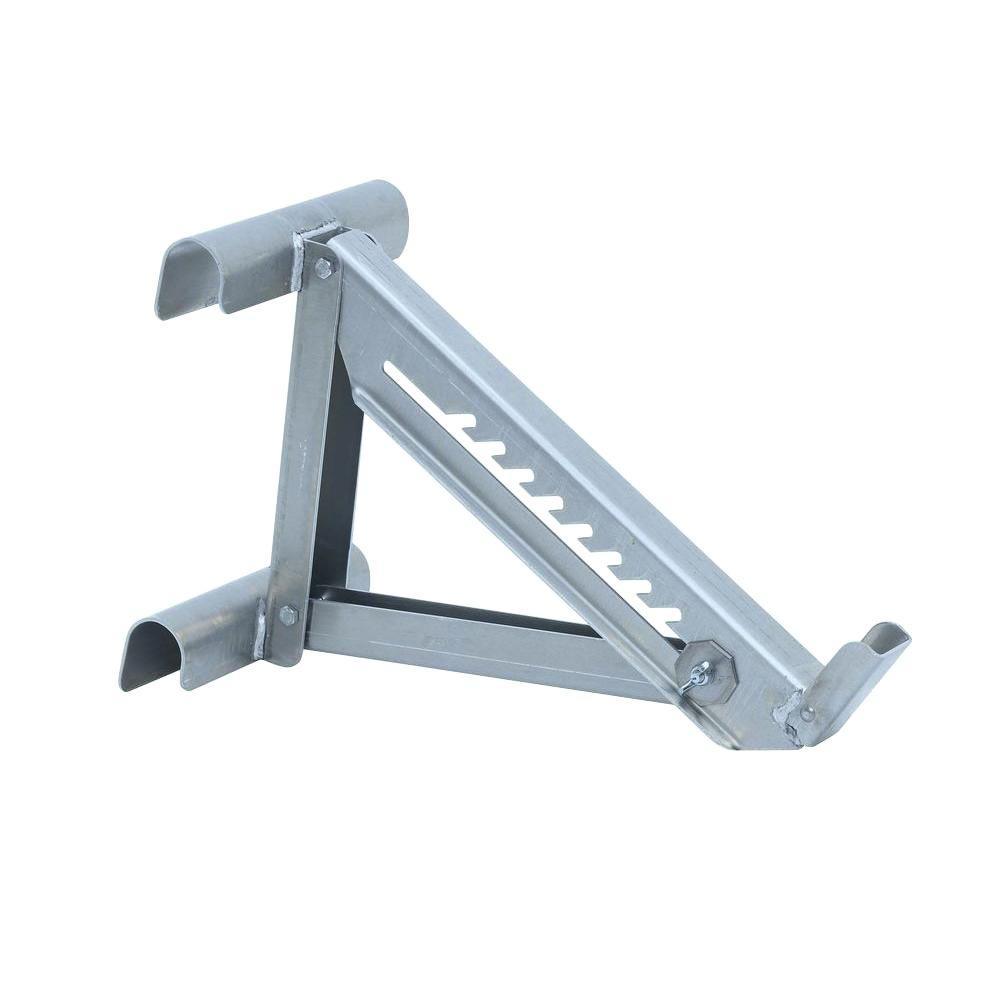 Qualcraft 2 Rung Aluminum Ladder Jack 2420p The Home Depot