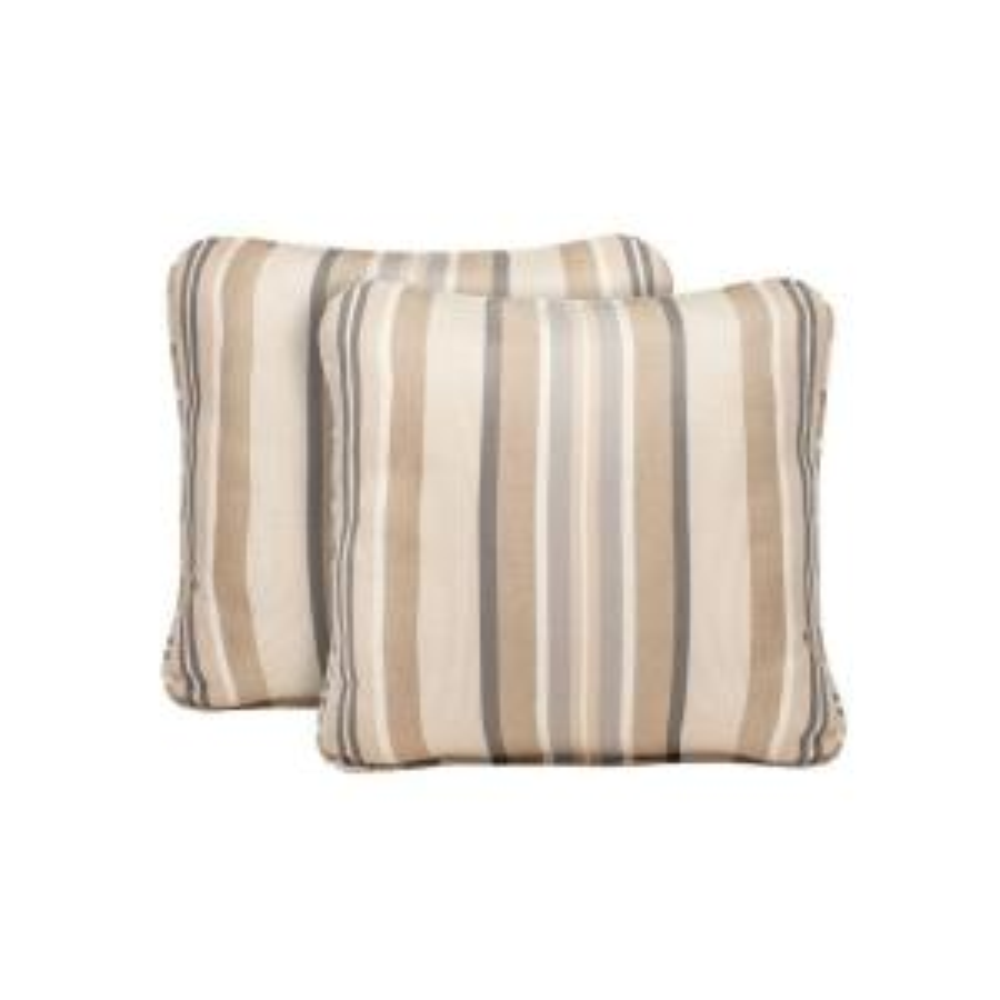 Brown Jordan Marquis Terrace Lane Outdoor Throw Pillow (2-Pack) by Brown Jordan