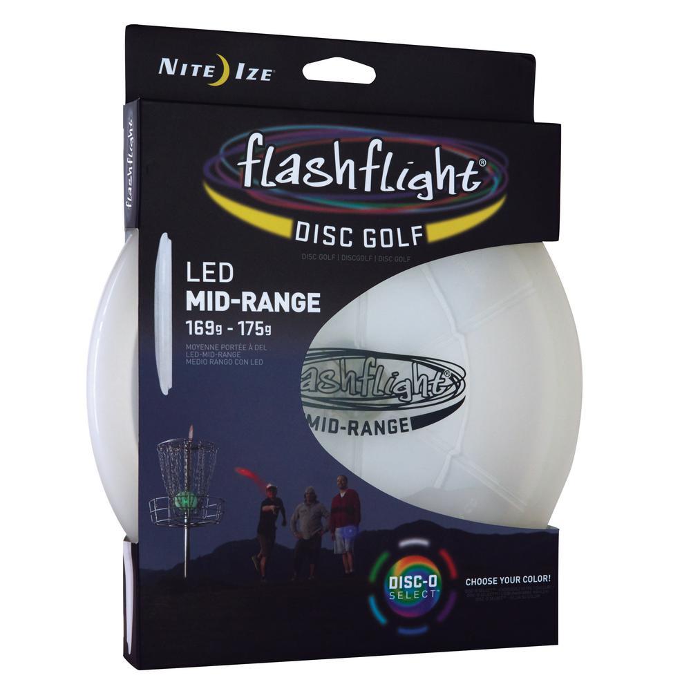 Flashflight LED Disc Golf Mid-Range Disc-O Select