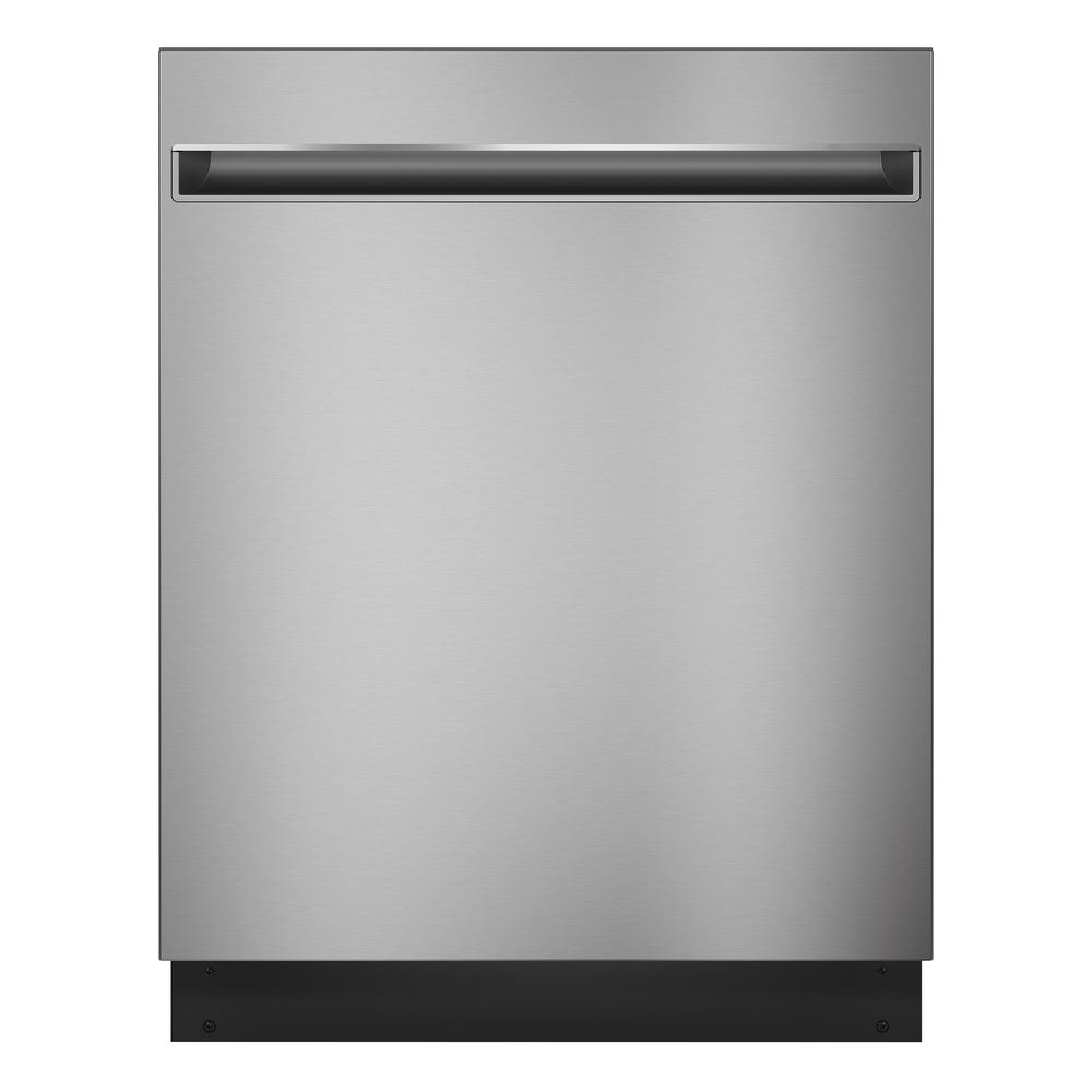 GE 24 in. Top Control Dishwasher in Stainless Steel with Stainless Steel Tub, 51 dBA