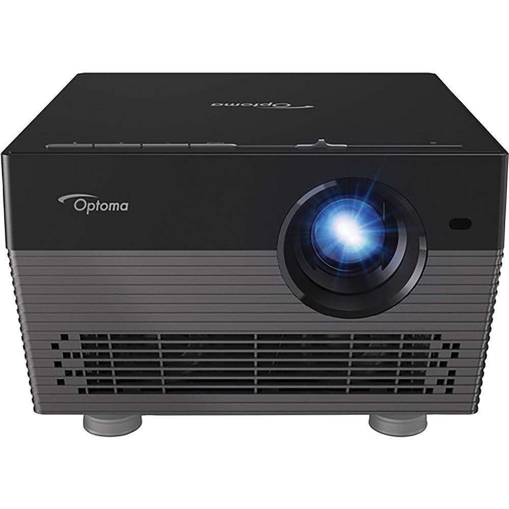 Optoma 2160p 4K UHD Portable Projector with Alexa and Google