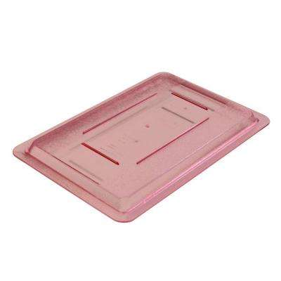 Lid Only for 12x18 in. Polycarbonate Color-Coded Food Storage Box in Red (Case of 6)
