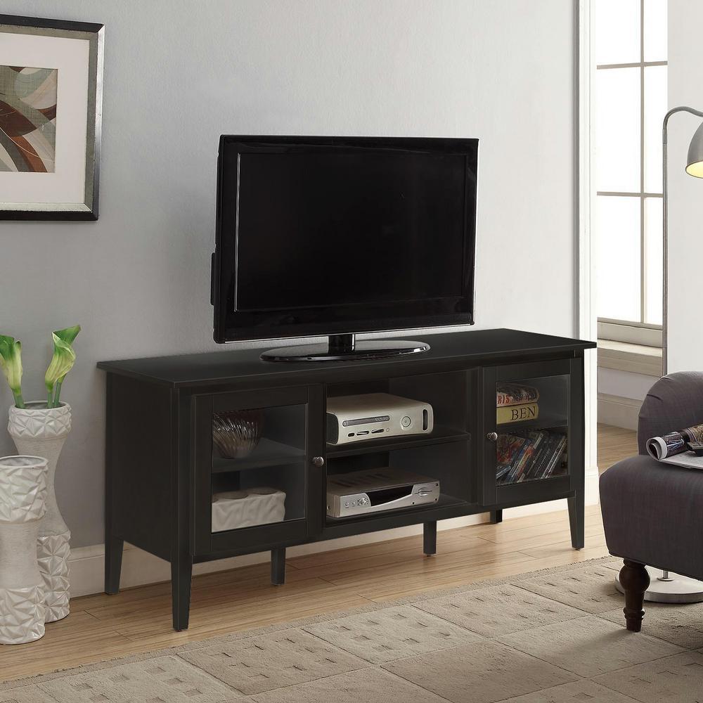 Arbor Black Large Tv Stand