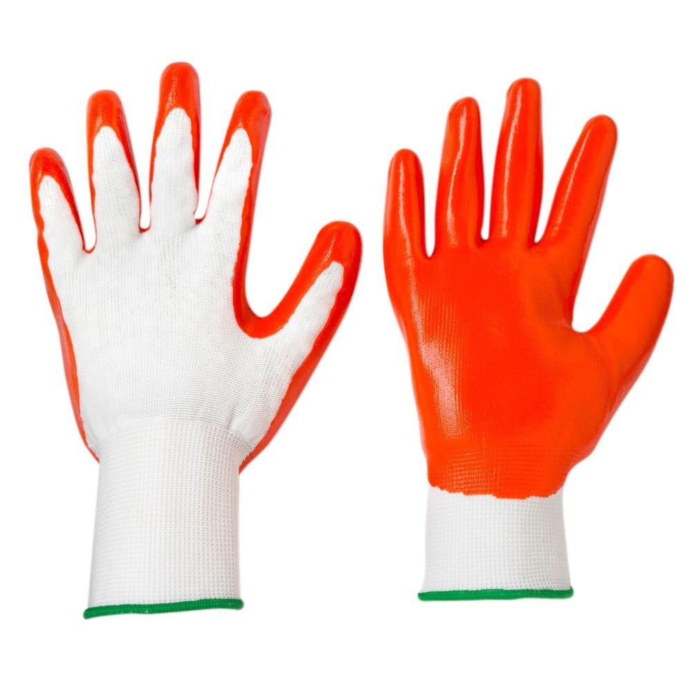 West Chester Multi-Purpose Large Nitrile-Dipped Gloves (5-Pack)