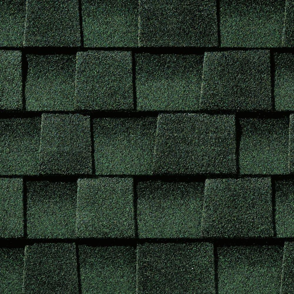 Gaf timberline hd hunter green lifetime architectural for Sustainable roofing materials
