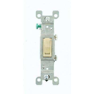 15 Amp CO/ALR AC Quiet Toggle Switch, Ivory