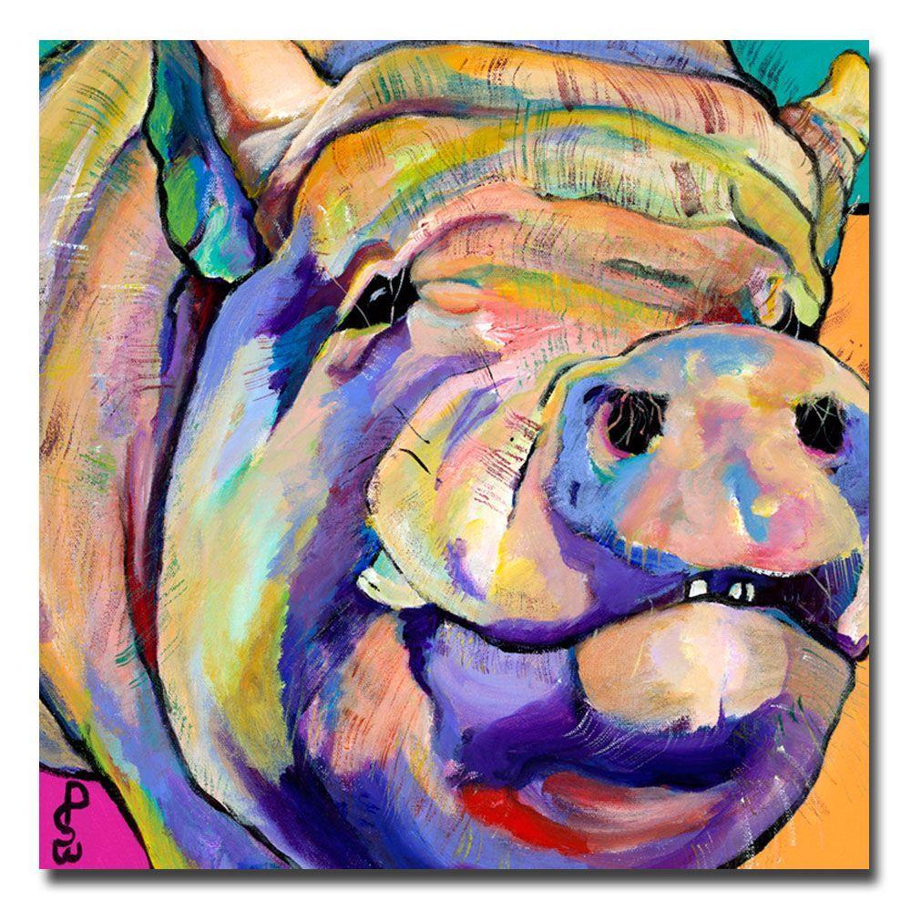 Trademark Fine Art 35 in. x 35 in. Potbelly Canvas Art