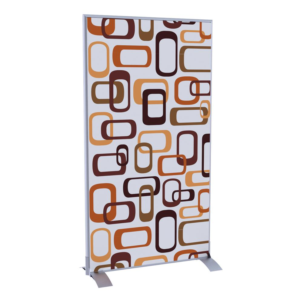 Paperflow EasyScreen Vertical Divider Screen Antracite
