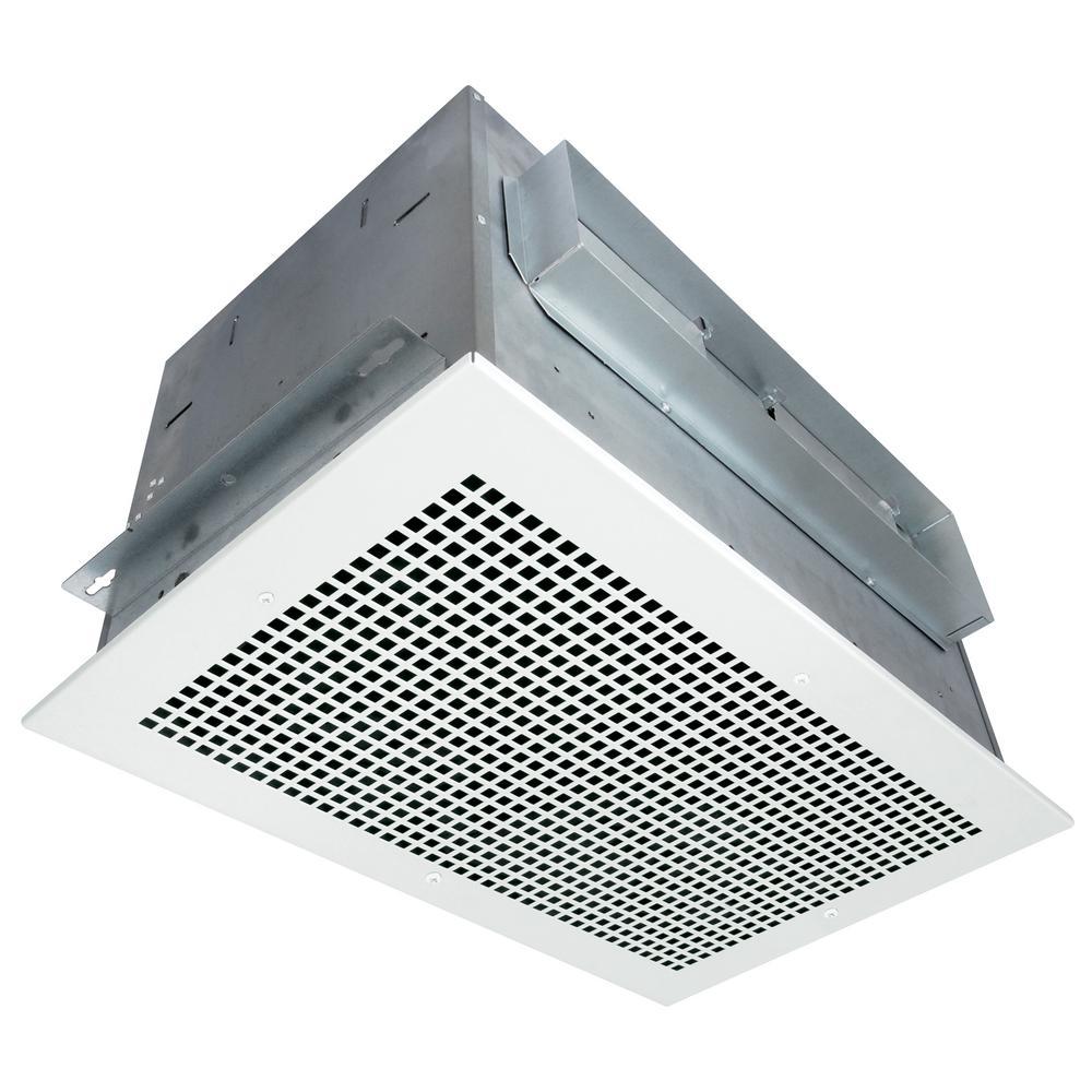 High Performance White 650 CFM 3.5 Sone Ceiling Bath Fan, HVI