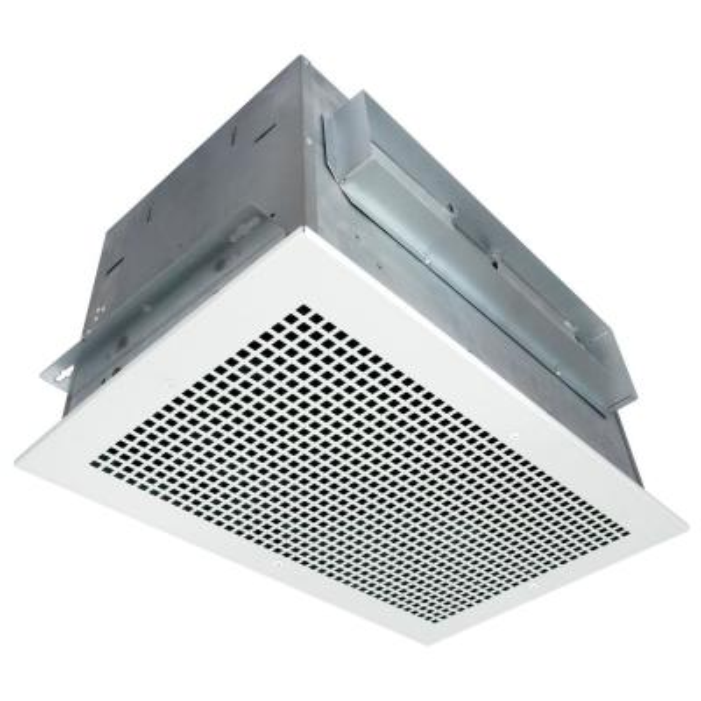 High Performance 620 CFM White Ceiling Bathroom and Bath Exhaust Fan 3.5 Sone, HVI Certified