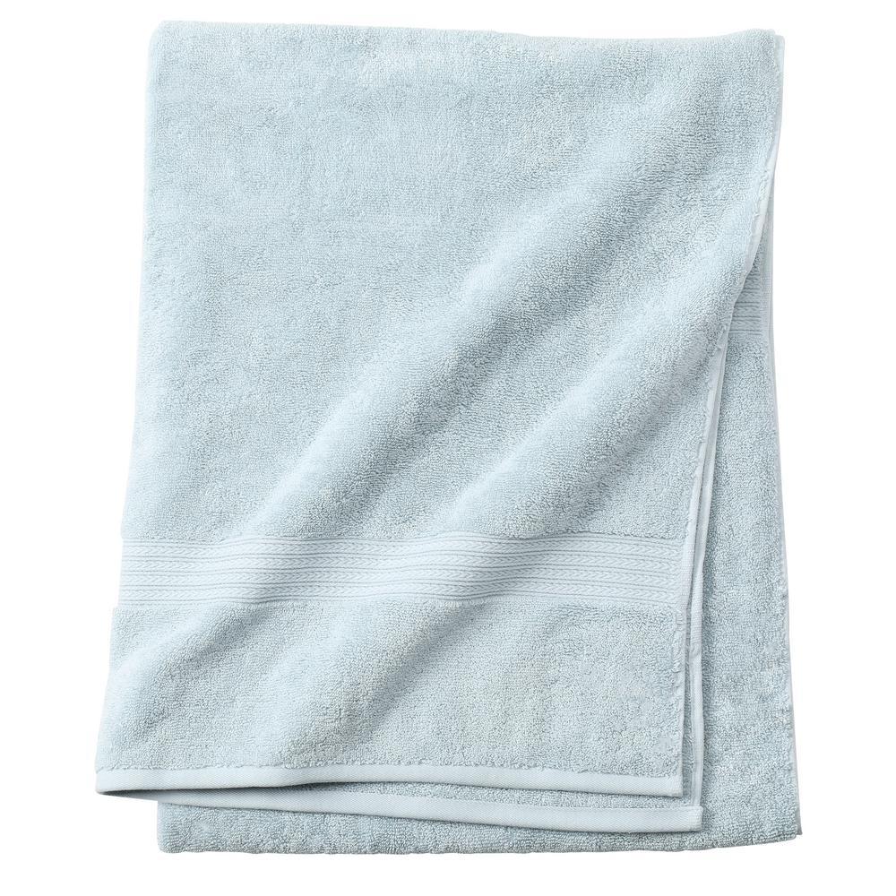 Newport 1-Piece Bath Sheet in Robin Blue