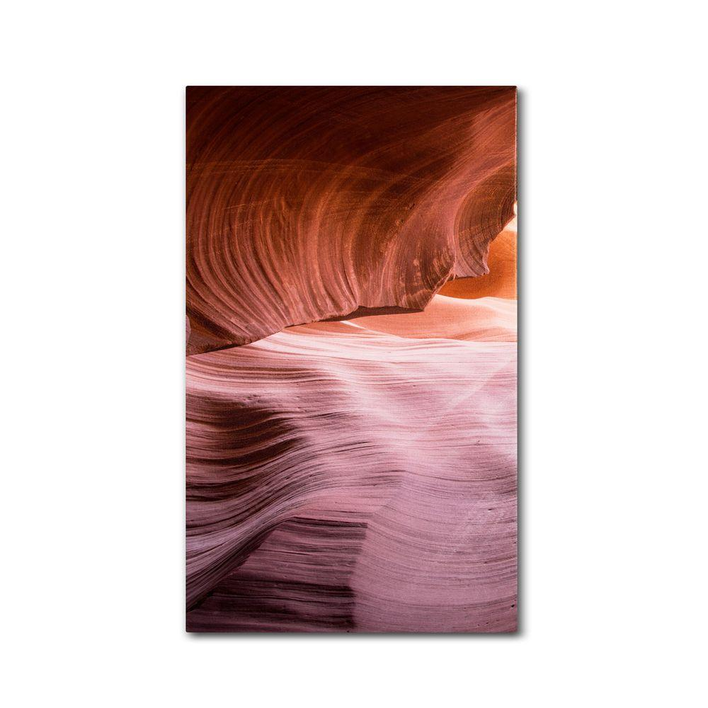 24 in. x 12 in. Lower Wave III Canvas Art