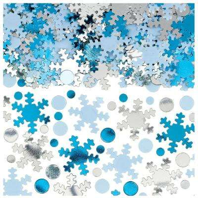 0.25 in. Christmas Snowflake Confetti (2-Pack)