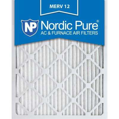 18 in. x 25 in. x 1 in. Allergen Pleated MERV 12 - FPR 9 Air Filters (6-Pack)
