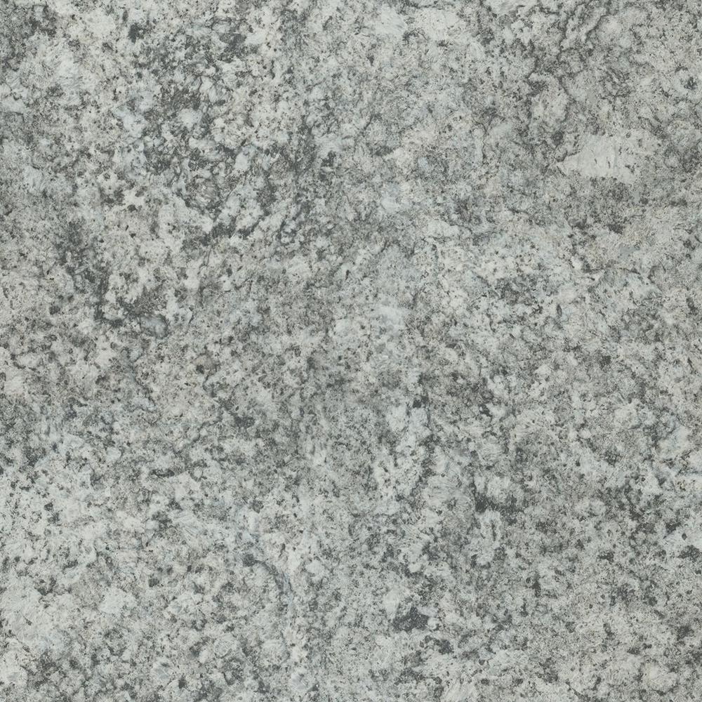 5 in. x 7 in. Laminate Countertop Sample in Geriba Gray