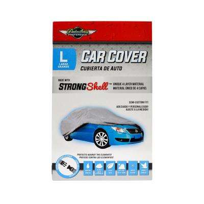 Strong Shell 190 in. L x 72 in. W x 49 in. H Car Cover - L