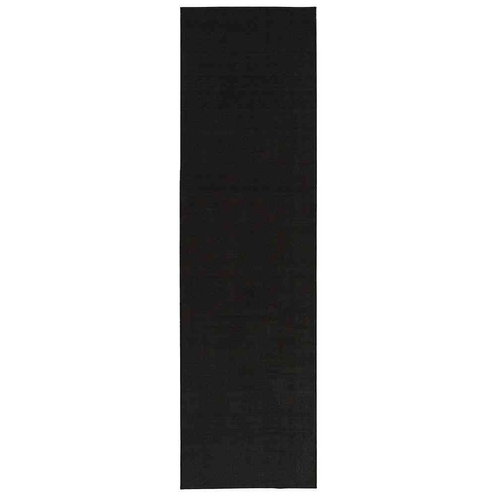Ottomanson Oscar Collection Charcoal 20 in. x 59 in. Solid - Sale: $13.06 USD (15% off)