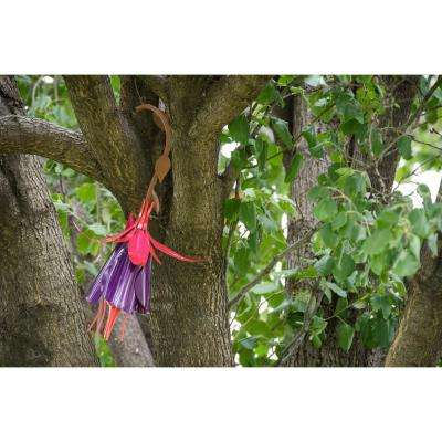 10 in. H Fuchsia Hummingbird Feeder