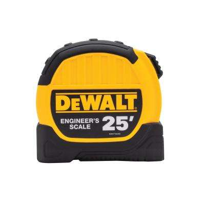 25 ft. x 1-1/8 in. Engineer Scale Tape Measure