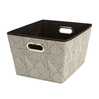 Grommet Large Geo Natural Storage Tote