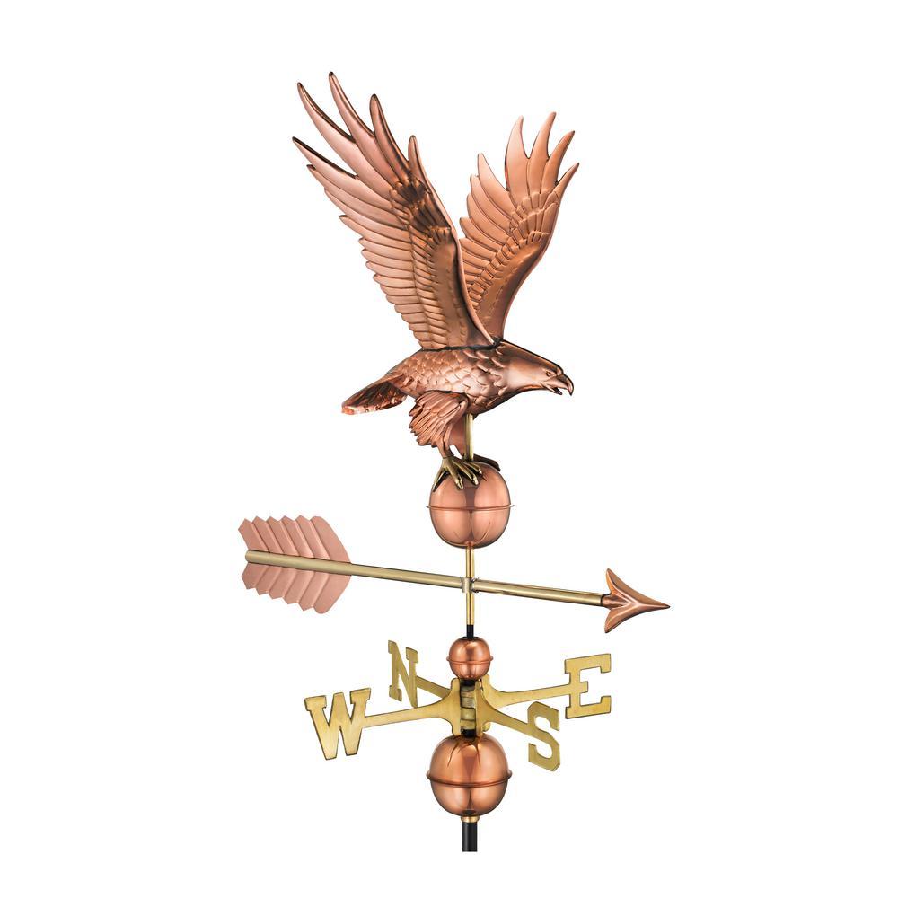 Freedom Eagle Weathervane - Pure Copper