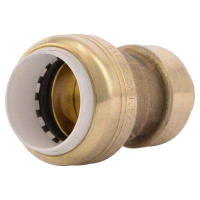 3/4 in. Brass Push-to-Connect PVC IPS x CTS Conversion Coupling