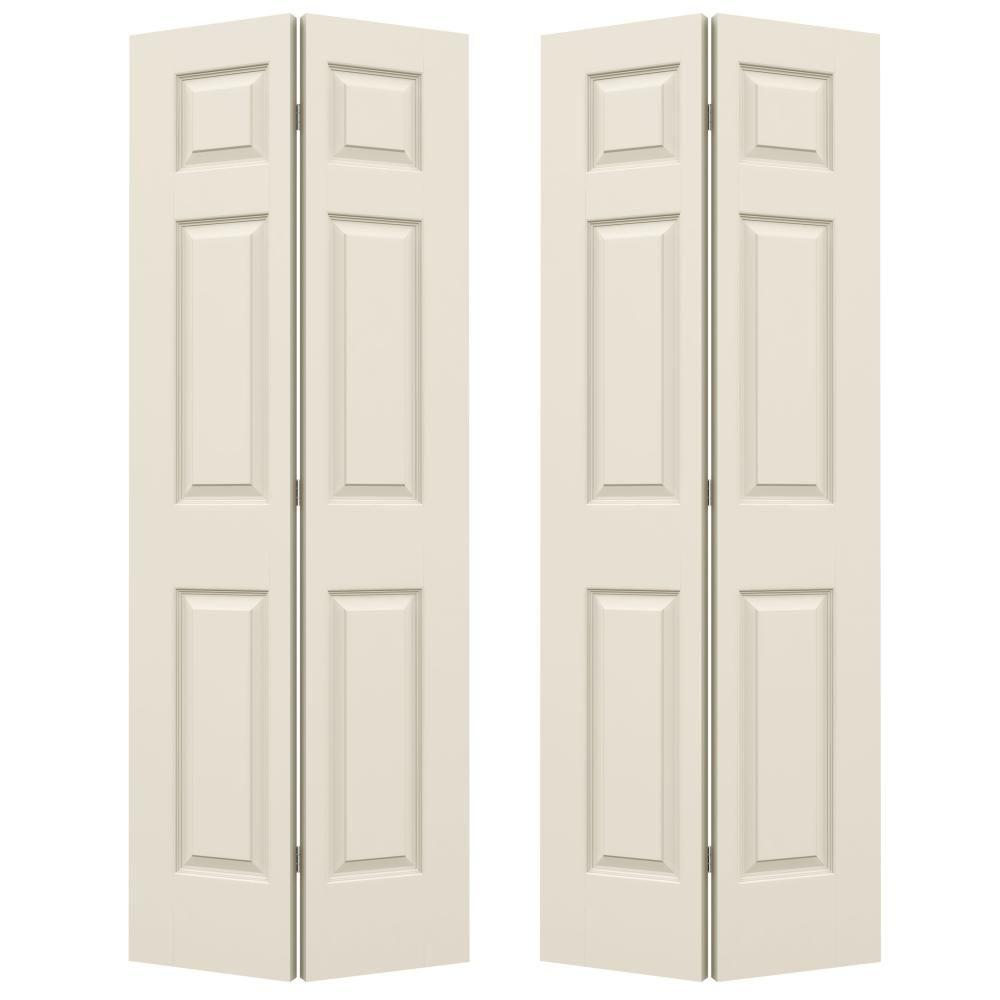 Etonnant Jeld Wen 72 In. X 80 In. Colonist Primed Smooth Molded Co.