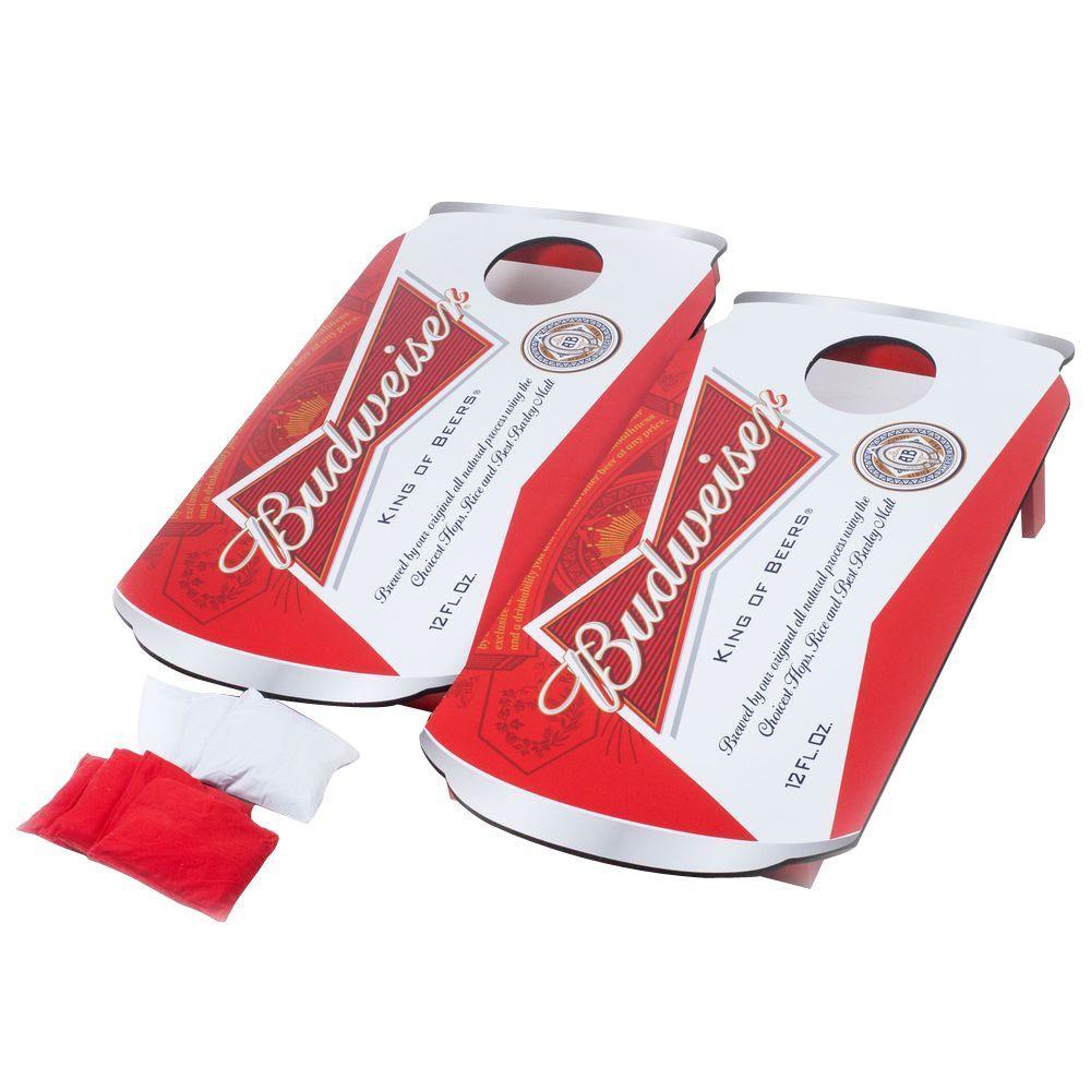 Trademark Games Budweiser Can Cornhole Bean Bag Toss Game by Trademark Games
