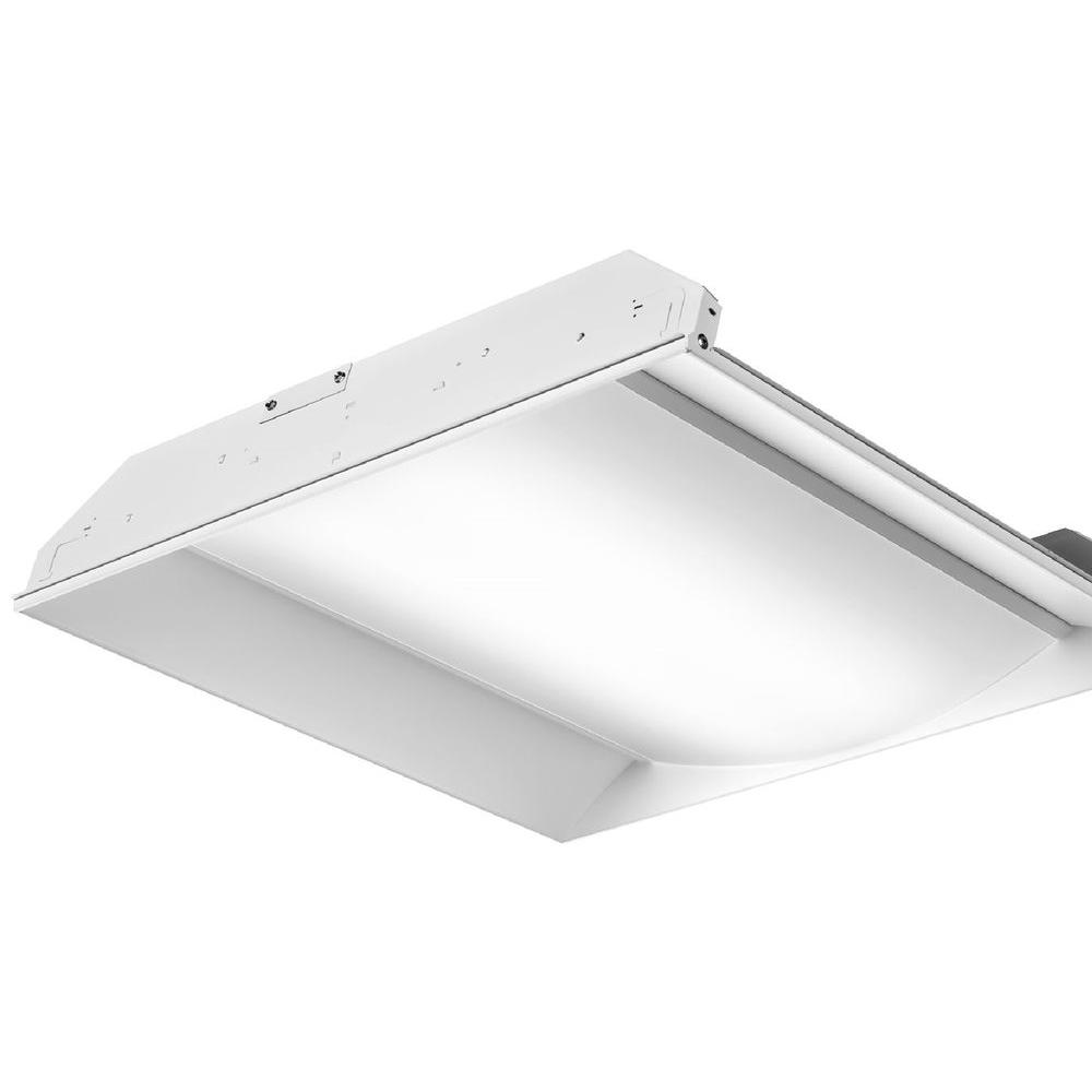 FS Series 3300 Lumen 2 ft. x 2 ft. White Recessed