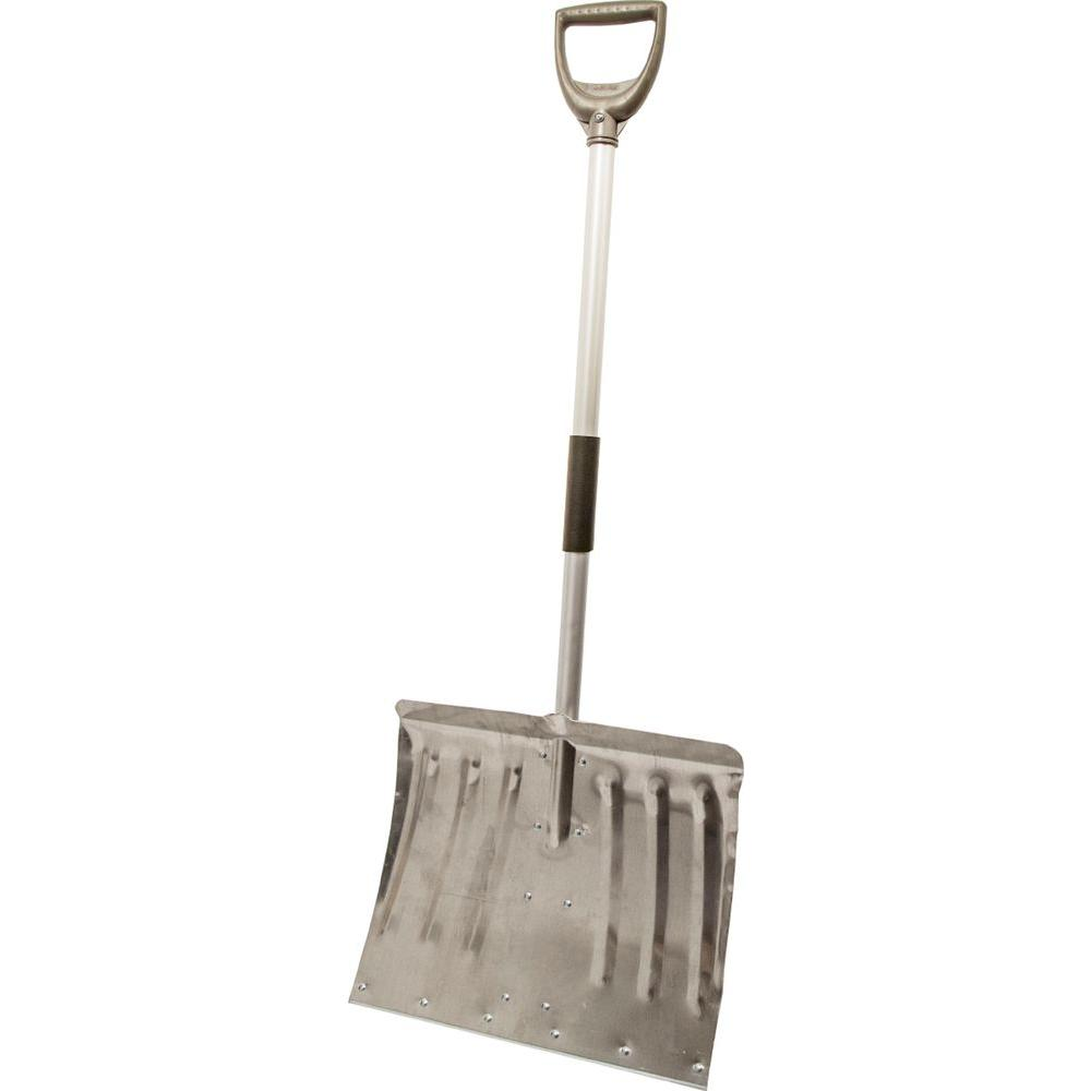18 in. Lite-Wate Aluminum Handle Combo Aluminum Blade Snow Shovel