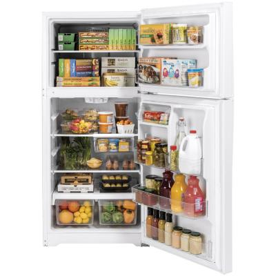 21.9 cu. ft. Top Freezer Refrigerator in White