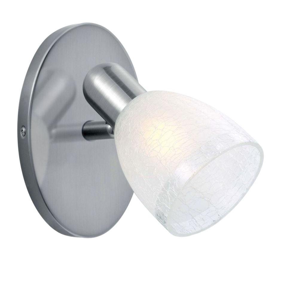 Eglo Benita 1-Light Nickel Spot Lighting Track-DISCONTINUED