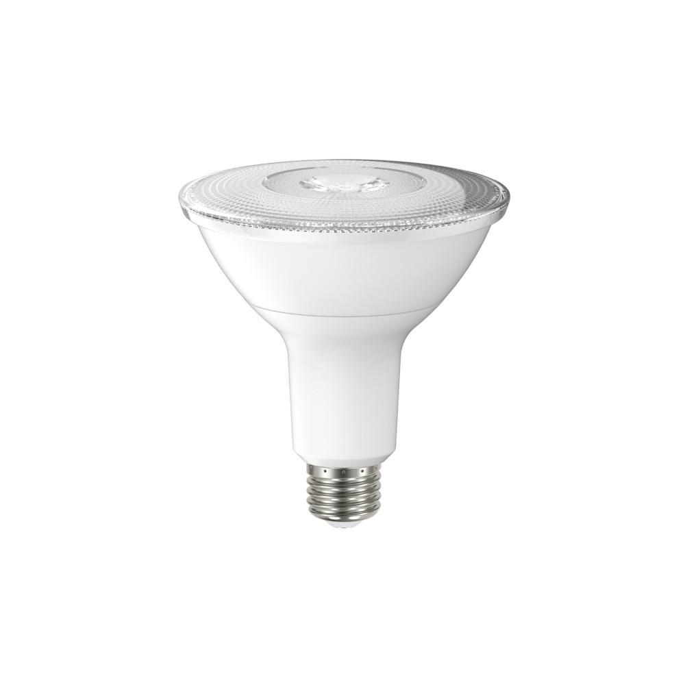 100w equivalent warm white par38 dimmable led spot light bulb ml15par3883040d the home depot. Black Bedroom Furniture Sets. Home Design Ideas
