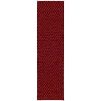Medallion 2 Ft. x 8 Ft. Area Rug Runner Chili Pepper Red